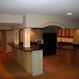 Howard County Basement Remodeling – Marriottsville, MD – 21104