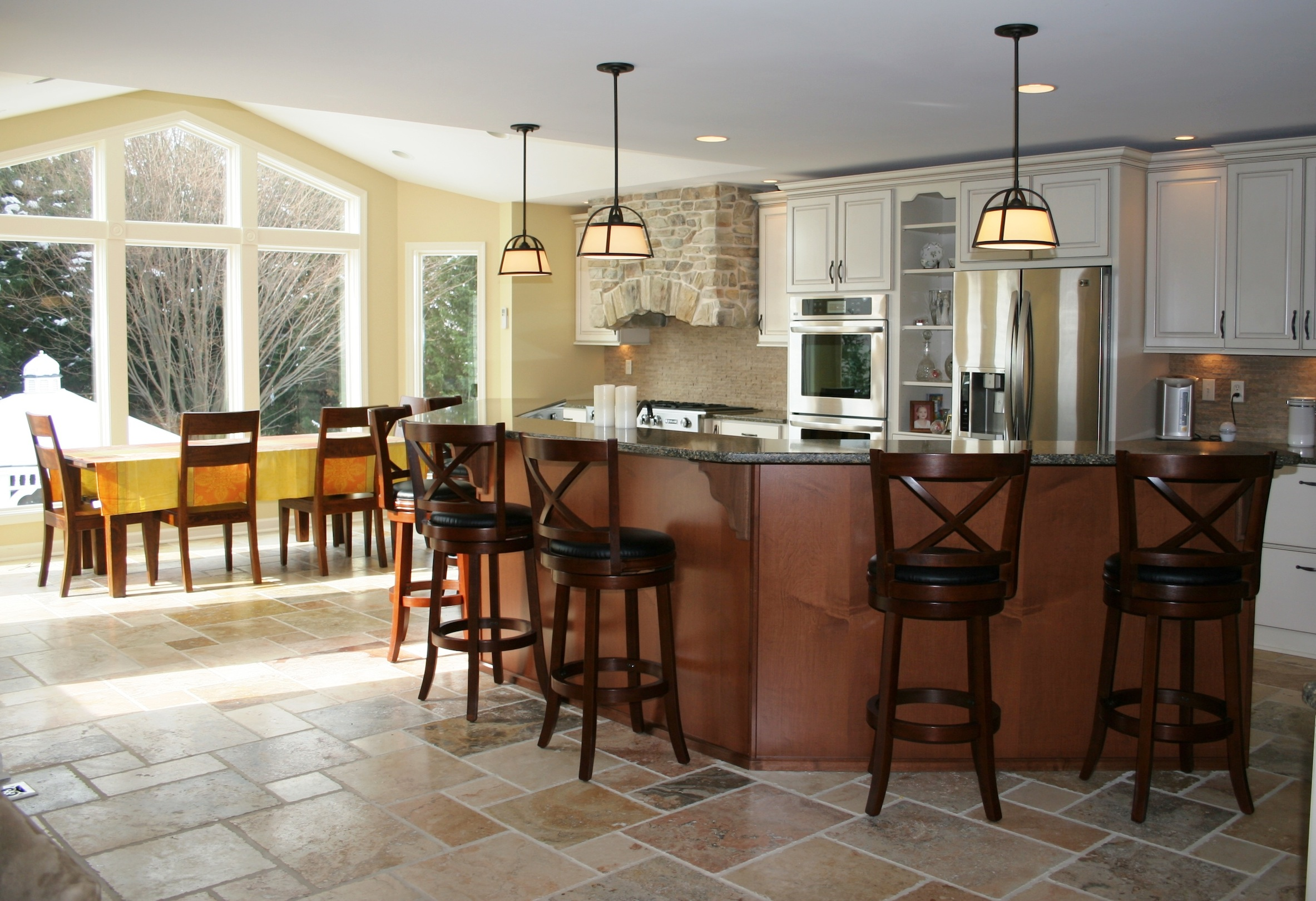 Kitchen additions in md montgomery county md baltimore for Kitchen remodeling and design