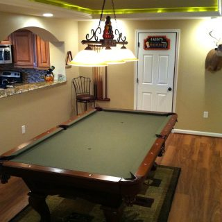 Baltimore County Basement Remodeling – Owings Mills, MD – 21117