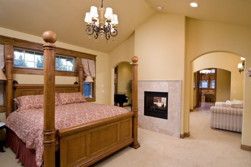 Master suite additions in maryland master bedrooms for Master bathroom suite designs