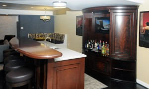 Basement Bar Entertainment Area Eldersburg 21784