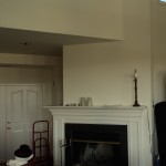 fireplace remodel (before)