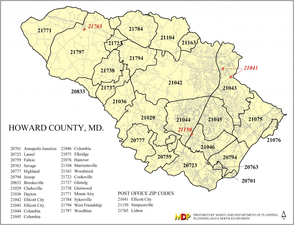 Howard County Md Zip Code Map.Howard County Zip Code Map Zip Code Map