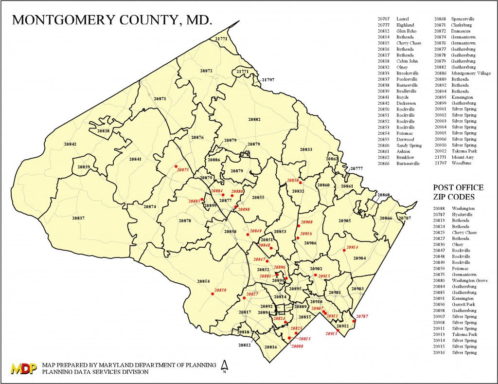 Frederick County Md Zip Code Map.Montgomery County Md Zip Code Map Kidscare Store