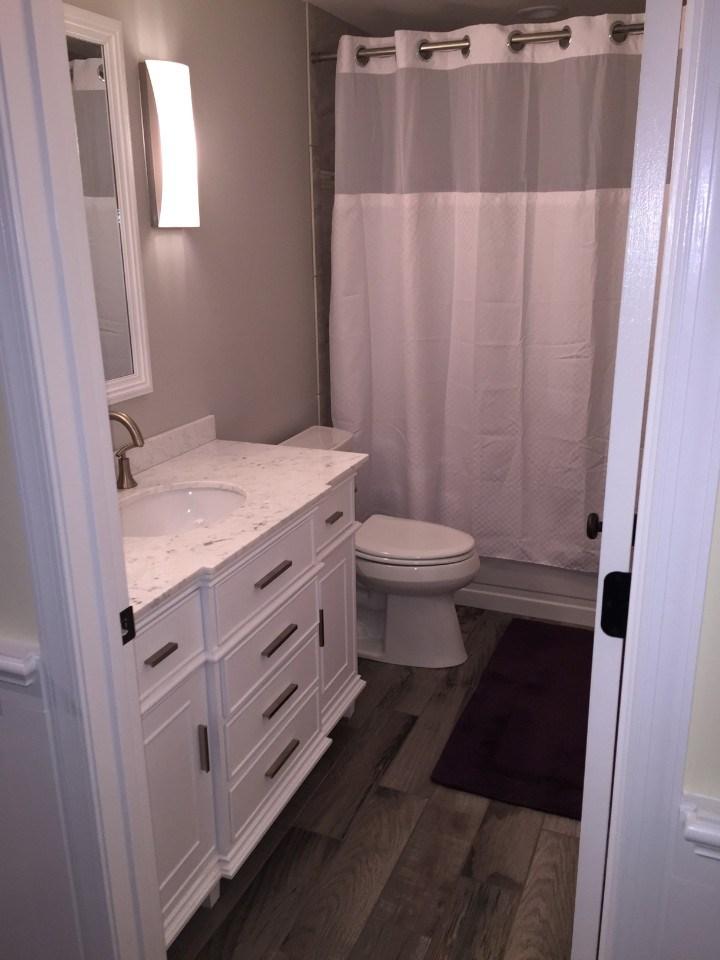 after remodel side bathroom